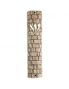 Mezouza en forme de pierre