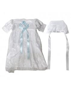 Robe blanche élégante Brit Mila.