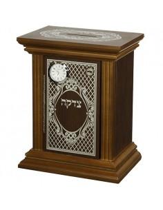 Boite de Tsedaka Horloge