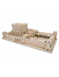 """Puzzle 3D en bois """"Temple"""""""