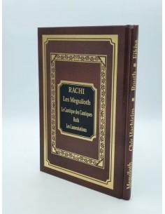 Rachi Les Meguiloth - Le cantique des des cantiques