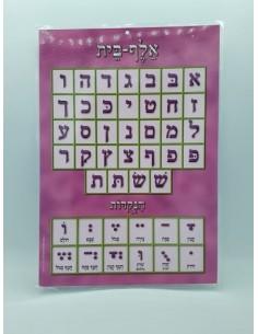 Poster plastique Aleph-Beth