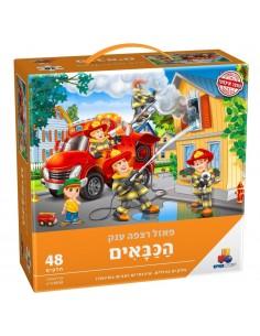 Puzzle - Les pompiers - 48p