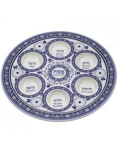 Assiette de Pessa'h modèle...