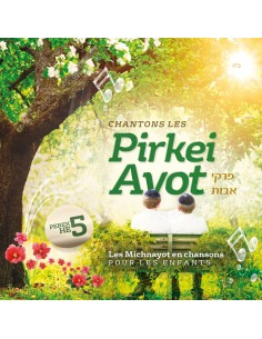 CD Chantons le Pirkei Avot Chapitre 5