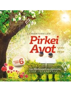 CD Chantons le Pirkei Avot Chapitre 6