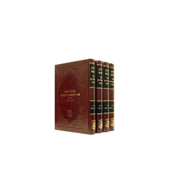 Set mamarim meloukatim du rabbi 4 volume