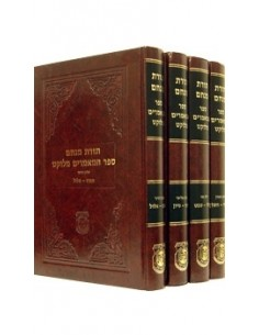 Set mamarim meloukatim du rabbi 4 volume