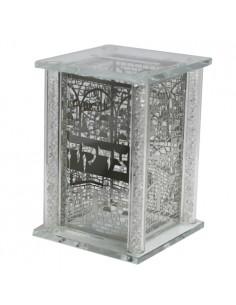 Boîte de charité en cristal